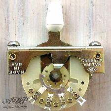 SELECTEUR pour STRATOCASTER CRL USA 5 way BOUTON BLANC - Switch Strat White Tip
