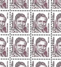 WCstamps: U.S. Scott #2192 / $250 - 75c Willkie Sheet Of 100, VF, Mint OGnh
