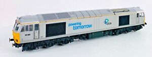 HORNBY 00 GAUGE - R3479 - DRAX Co-Co DIESEL ELECTRIC CLASS 60 '60066' - BOXED