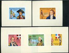446621) Elfenbeinküste Nr. 497-501 als geschnittene Blocks **