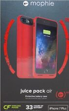 Mophie juice Pack Air Battery Case for Apple iphone 7 PLUS Color: red
