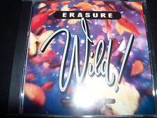 Erasure – Wild!  (Australia) CD - Like New