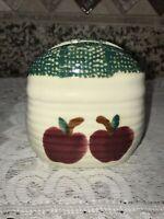 Vintage Ceramic Apple Napkin Holder
