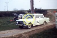Photo  Moskvich 412 Rally Car Circa 1973 1974 Dukeries or Tour of Lincs ?