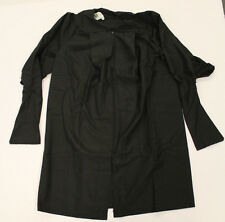 "Herff Jones Unisex Graduation Cap & Gown Set Black CB4 Size 5'3""/5'4"" NWT"
