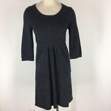 J Crew Woman's dress size small sweater dress Wool cashmere gray