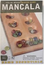 MANCALA-Solid Wood Folding Game-Game Essentials-From 2007-New