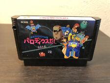 Parodius Da Konami 1990 Nintendo Famicom NES Japan Shooter Retro Games
