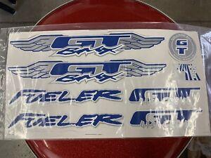 GT bmx decals set Fueler