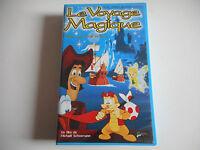 K7 VHS / CASSETTE VIDEO - LE VOYAGE MAGIQUE / PICO ET COLUMBUS