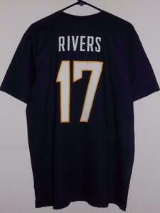 Los Angeles Chargers 2xl t shirt Phillip Rivers name and number NWT
