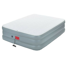"Coleman 19"" Double high Queen Airbed with Built in Electric Pump-NEW"