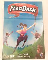 Flag Dash Kirk Dennison Capture the Flag Family Friend Fun Board Game