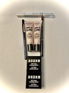 nyx makeup lot