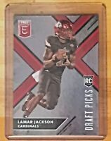 2018 Panini Elite Draft Picks Variation Lamar Jackson #104 Rookie SUPER HOT MVP