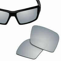 Polarized Replacement Lenses for-OAKLEY Eyepatch 1&2 Sunglasses Silver UVA&UVB