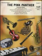 The Pink Panther for Clarinet Choir Score & Parts Sheet Music Book Henry Mancini