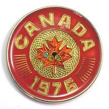 Olympic 1976 Canada memorabilia metal - MINT condition