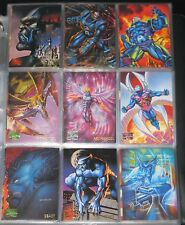 1995 Marvel Masterpieces BASE Set of 151 Cards NM/M RARE!!