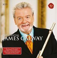 JAMES GALWAY - THE ESSENTIAL JAMES GALWAY 2 CD NEU