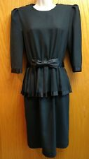 Bobby's Girl brand black dress size 10 petite
