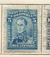 Colombia 1917 Early Issue Fine Used 5c. 301072