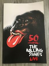 50 & Counting.The Rolling Stones Live Tour Photobook Softcover