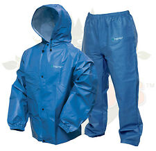M/L Blue Frog Frogg Toggs Togs Pro Lite Rain Gear Suit Wear PL12140-12M/L