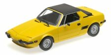 Fiat X1/9 Yellow 1974 1:18 Model MINICHAMPS