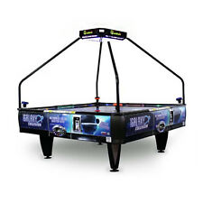 Barron Games Galaxy Collision Coin-Op Quad Air Table with LED Topper
