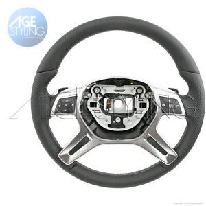 OEM Mercedes-Benz ML350 ML550 166 GL350 GL450 GL550 AMG Steering Wheel 2013-2016