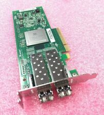 Dell Qlogic QLE2562-DEL Dual-Port 8GB Fibre Channel Low Bracket KV00H w/ SFPs