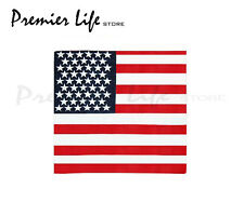 "USA Stars & Stripes American Flag Bandana 21""x 21"" Bandana"