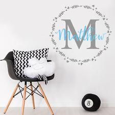 Personalizar Vivero Habitación de Bebé Niño Mural Adhesivo Decoración de la etiqueta del vinilo de logotipo