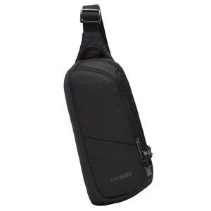 Pacsafe Vibe 150 Anti-Theft Cross Body Pack - 2.5 Litres - Jet Black