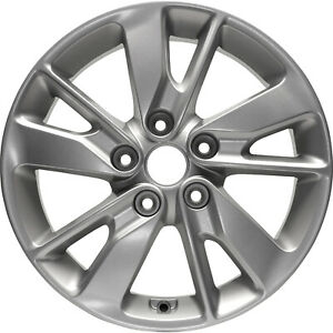 74729 REconditioned OEM Factory Aluminum 16in Wheel, Uses TPMS, Silver