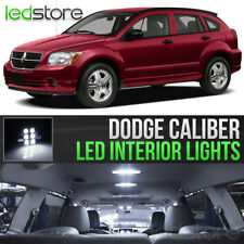 2007-2012 Dodge Caliber White Interior LED Lights Kit Package