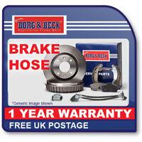 BBH8207 BORG & BECK BRAKE HOSE FRONT L/R L/H R/H Front Lexus IS 200,300 5/00-07/