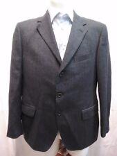 giacca jacket uomo pura lana taglia 50