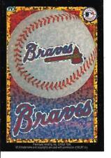 Atlanta BRAVES Baseball Vintage Sticker MLB Merchandise