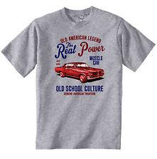 VINTAGE AMERICAN auto PONTIAC GTO-Nuovo T-shirt di Cotone