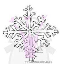 Magnolia EZ Mount Rubber Stamp - Giant Big Christmas Winter Snowflake [X9041F]