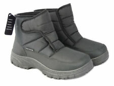 Cushion Walk Men's Thermo-Tex Fleece Lined Warm Snow Boots Non-Slip Soles 9