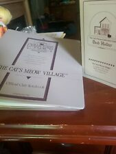 The Cat's Meow Official Club Notebook + Village Exchange Newsletters and more!