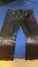 Women's genuine leather pants Size L