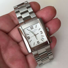 Christian Dior Rina D101 100 stainless steel mens watch with original bracelet