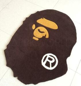 Authentic A Bathing Ape Bape Carpet Rug Monkey Home decoration door mat floor