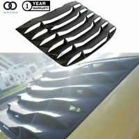 For 03-08 Nissan 350Z Matte Black Rear Windshield Louvers Cover ABS NEW