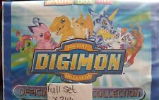 DIGIMON: FULL SET OF STICKERS X244