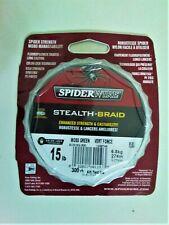 Spiderwire Stealth-Braid Moss Green Superline 15 lb. 300 yds. Upc: 022021601103